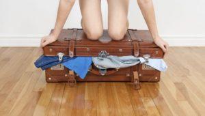 7 способов разместить больше вещей в чемодане