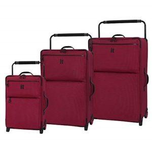Сравнение чемодана на 2 колесах и 4 колесах