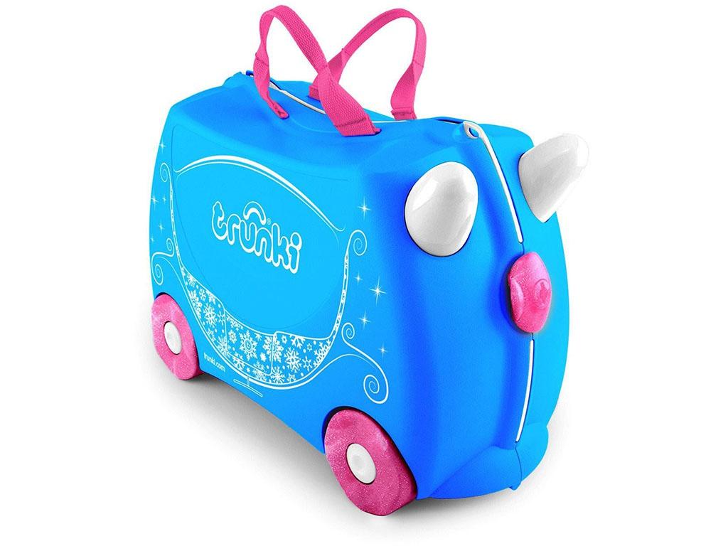Лучшие детские чемоданы на колесиках