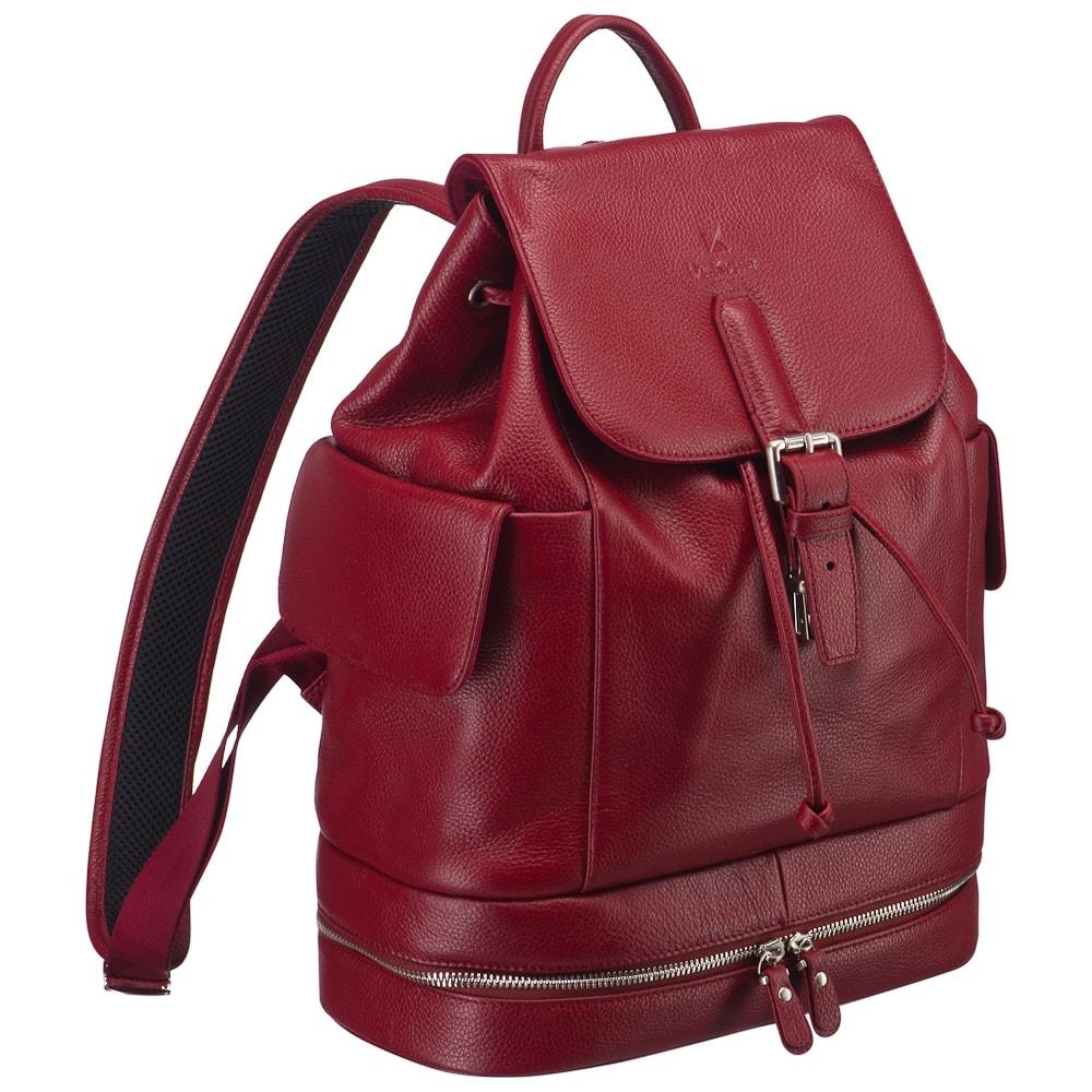 Лучшие женские кожаные рюкзаки с фото