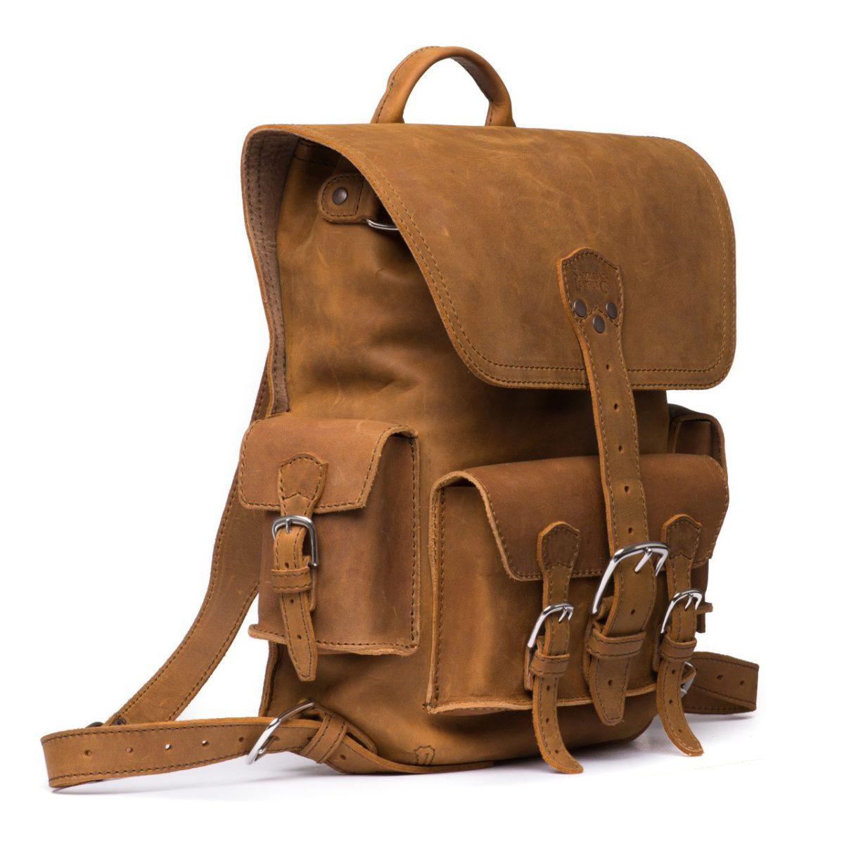 Лучшие мужские  рюкзаки из натуральной кожи
