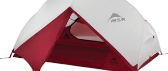 Лучшие лёгкие одно- двух- и трех-местные туристические палатки
