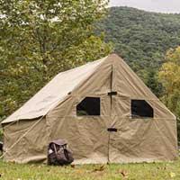 Лучшие брезентовые палатки для кемпинга