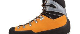 Как выбрать альпинистскую обувь